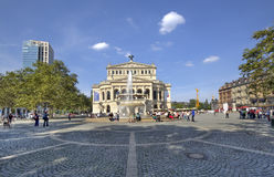 De Opera van Frankfurt Royalty-vrije Stock Afbeeldingen