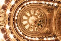 De opera van het theaterplafond stock afbeelding