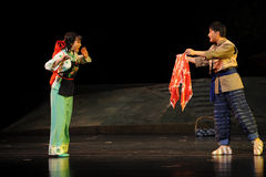 De opera van Jiangxi van de giftverrassing een weeghaak Stock Foto's