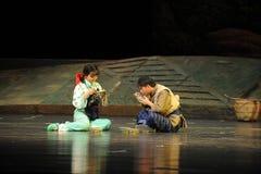 De opera van Jiangxi van de picknicksmaak een weeghaak Stock Foto