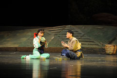 De opera van Jiangxi van de picknicksmaak een weeghaak Stock Afbeeldingen