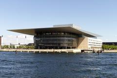 De Opera van Kopenhagen Stock Foto's