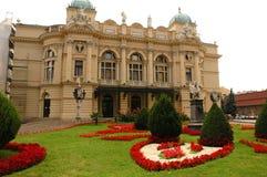 De opera van Krakau Royalty-vrije Stock Afbeeldingen