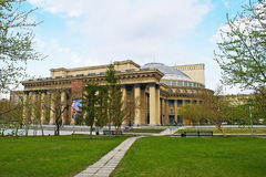 De Opera van Novosibirsk en Ballettheater stock foto