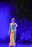 De Opera van Peking de student-nationale volksdans Stock Foto