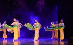 De Opera van Peking de student-nationale volksdans Stock Foto's