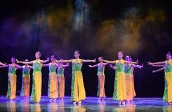 De Opera van Peking de student-nationale volksdans Stock Fotografie