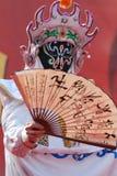 De opera van Sichuan, Veranderende Gezichten Stock Foto's