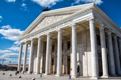 De opera van de staat en de Opera van Astana van het ballettheater Astana, Kazachstan stock afbeelding