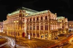 De Opera van Wenen stock afbeeldingen