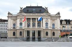 De Opera van Zürich Royalty-vrije Stock Fotografie