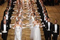De Operabal van Wenen royalty-vrije stock foto
