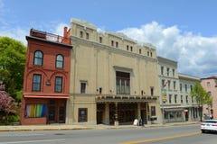 De Operahuis van Bangor in Bangor van de binnenstad, Maine Royalty-vrije Stock Afbeelding