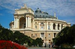 De operahuis van Odessa Stock Afbeelding