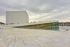 De Operahuis van Oslo Royalty-vrije Stock Afbeeldingen