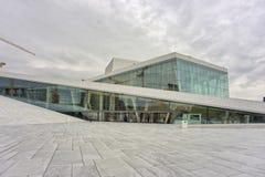 De Operahuis van Oslo Stock Foto's