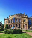 De Operahuis van Praag Stock Foto