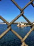 De operahuis van Sydney in een mooi ogenblik De zonnige dag Stock Foto's