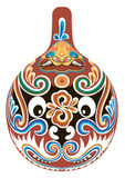 De operamasker van Peking stock illustratie