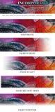 De opgenomen Banner van Masthead van het Embleem Royalty-vrije Stock Foto's