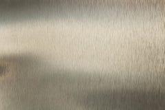 De opgepoetste textuur van de metaaloppervlakte Royalty-vrije Stock Foto's