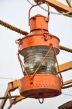 De opgeschorte lantaarn van het schip in retro stijl Royalty-vrije Stock Afbeelding