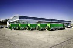 De Opgezette Vorkheftruck van Moffett Vrachtwagen Royalty-vrije Stock Afbeeldingen
