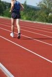 De opleiding van de atletiek stock afbeelding