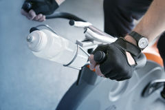 De opleiding van de fiets Royalty-vrije Stock Afbeelding