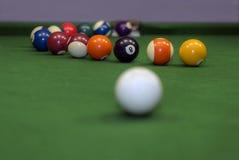 De opleiding van de pool Stock Foto's
