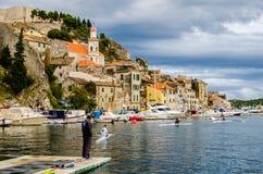 De Opleiding van Kroatië Royalty-vrije Stock Foto