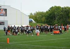 De Opleidingskamp 2016 van Cleveland Browns NFL Stock Foto