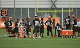 De Opleidingskamp 2016 van Cleveland Browns NFL Dag 13 Royalty-vrije Stock Fotografie