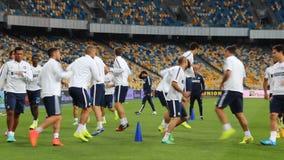 De opleidingssessie van FC Internazionale stock videobeelden