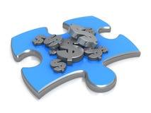 De Oplossing van de cash flow Stock Afbeeldingen