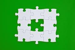 De Oplossing van de puzzel Stock Afbeelding