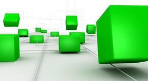 De oplossing van Internet Stock Foto