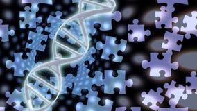 De Oplossingen van DNA Stock Foto