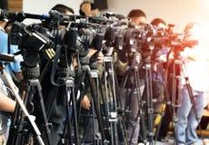 De opnametv van de videocameraband royalty-vrije stock afbeelding