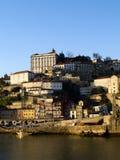 De Oporto ciudad vieja abajo Fotografía de archivo