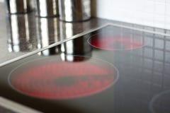 De oppervlakte van de keuken stock fotografie
