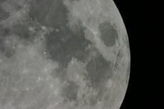 De oppervlakte van de maan Royalty-vrije Stock Fotografie