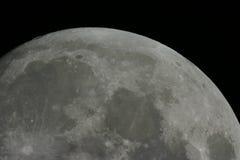 De oppervlakte van de maan Stock Afbeelding