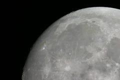 De oppervlakte van de maan Royalty-vrije Stock Foto