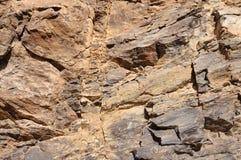 De oppervlakte van de rots Stock Afbeeldingen