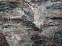 De oppervlakte van de rots Royalty-vrije Stock Fotografie