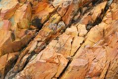 De oppervlakte van de rots Stock Foto