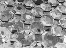 De Oppervlakte van glasdiamanten royalty-vrije illustratie