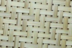 De oppervlakte van het bamboeweefsel Royalty-vrije Stock Foto