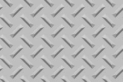 De oppervlakte van het Crosshatchedmetaal stock afbeelding